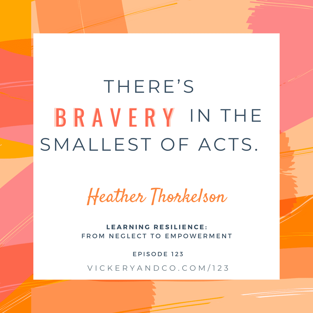 Resilience is a learned behavior. This is a story of hope and resilience. Author, coach, and Arctic expedition guide, Heather Thorkelson joins us to talk about growing up wealthy but severely neglected. This is a story about learned resilience and finding the strength you need from within. The Brave Files Podcast with Heather Vickery.