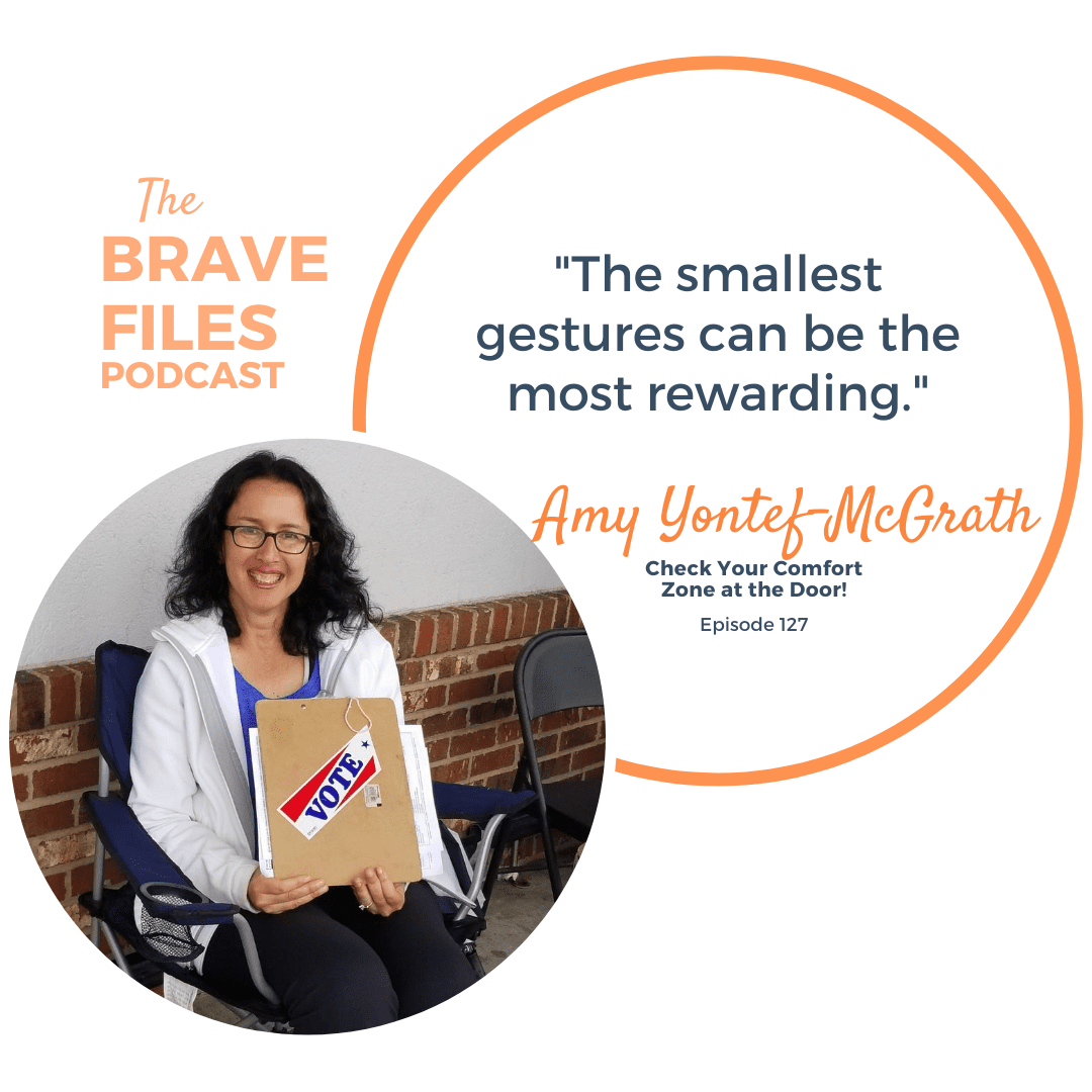 "As Amy Yontef-McGrath prepared to welcome her 50th year, she started to quiet the noise in her head, put herself first and commit to some pretty incredible challenges. Amy began engaged service with a purpose with her ""Follow me to 50"" campaign - a solo adventure in community service, physical activity and public blogging."