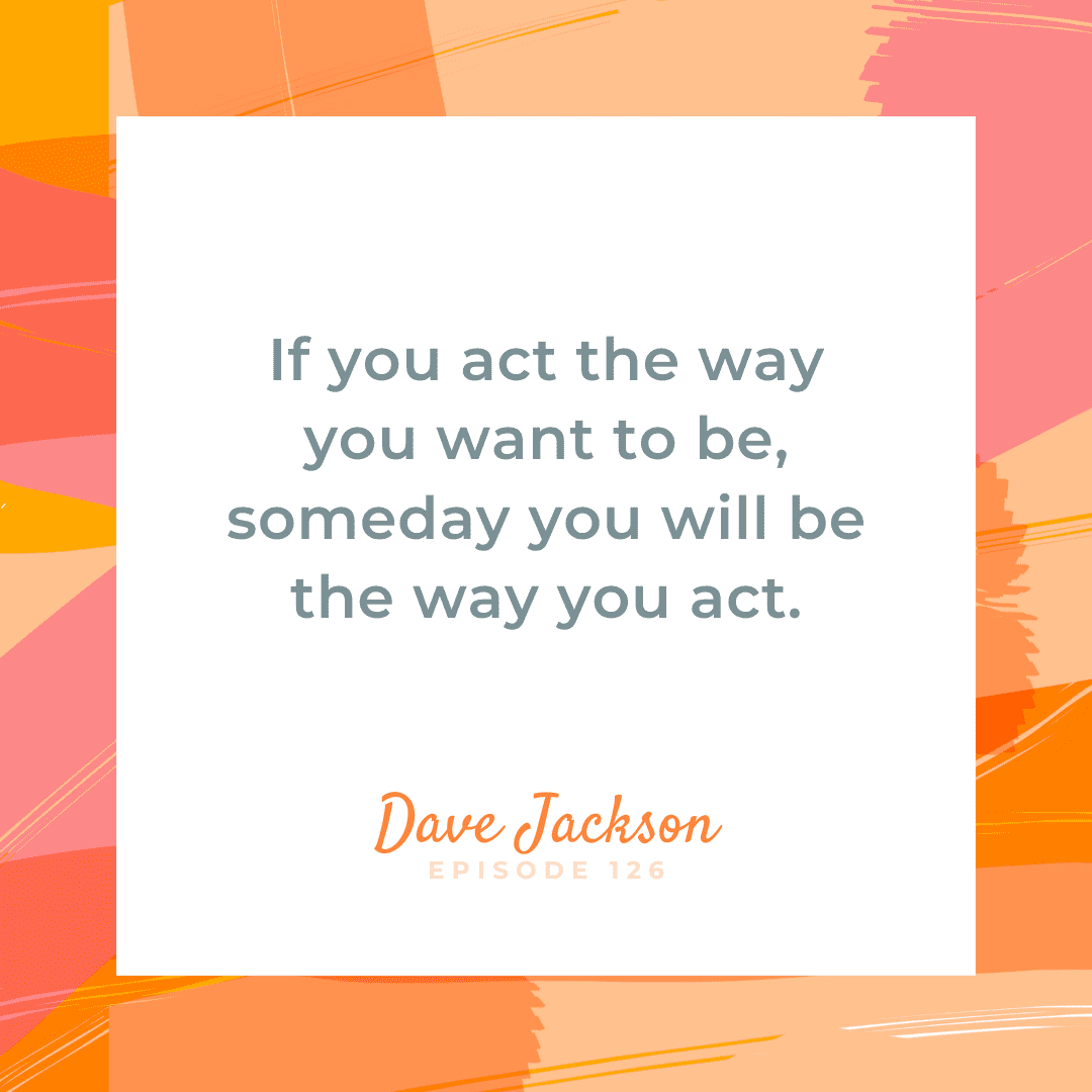 My guest, Dave Jackson takes us on his journey of bravery via everyday life experiences like working at a grocery store and riding in a hot air balloon when you're terrified of heights. The key is stepping out of your comfort zone and saying yes to more things. Dave says (and we agree) choosing bravery is winning and winning is gratifying.