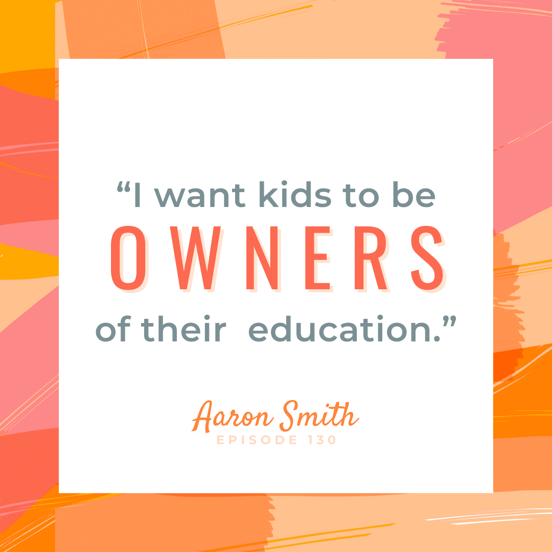 Dr. Aaron Smith Education Equality, A Community Effort The Brave Files Podcast. Kids should be the owners of their own education!
