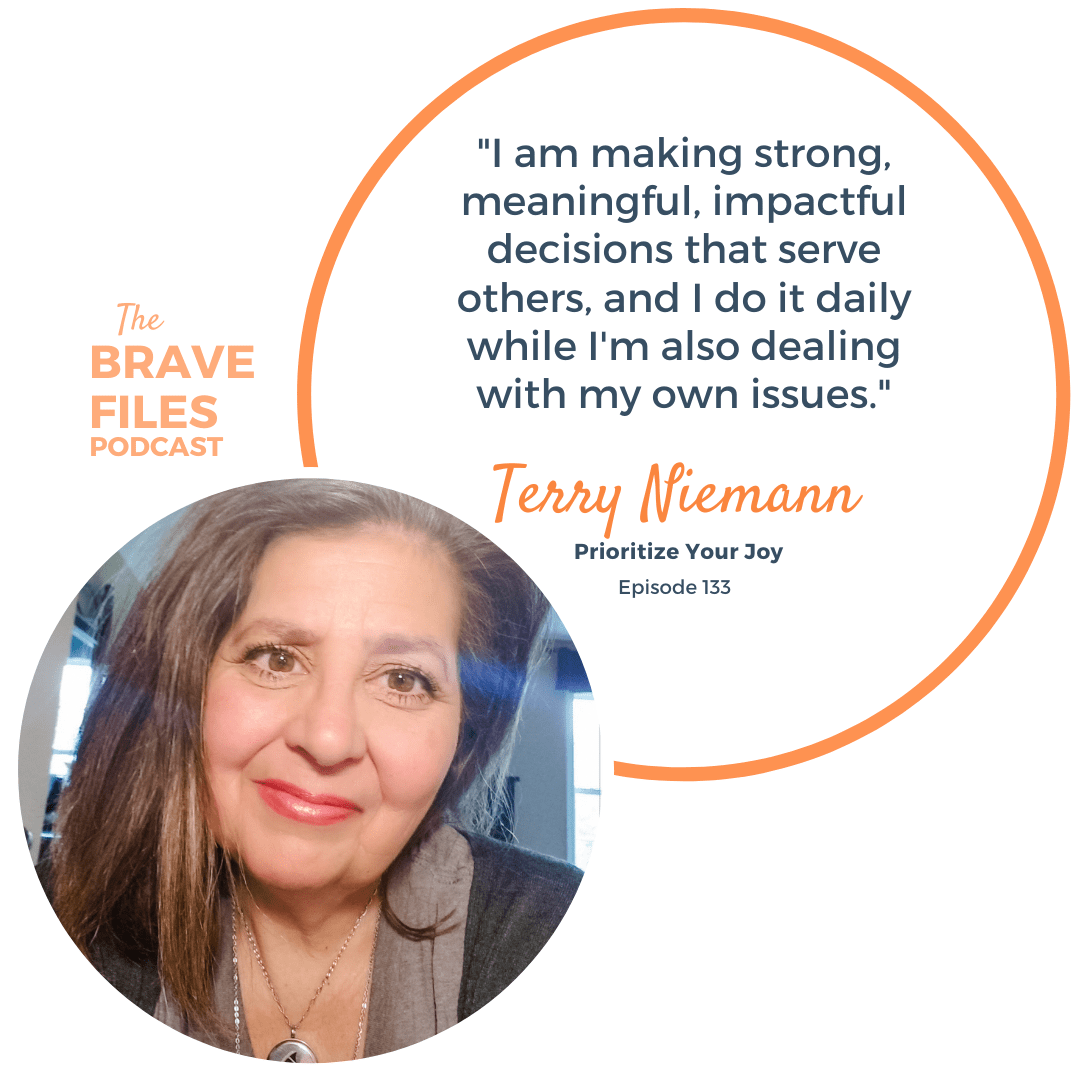 Terry Niemann is a warrior. After suffering from three concussions in three years, she's well-acquainted with how the universe can throw you off your game. As she manages the symptoms of her Post-Concussion Syndrome, she helps others affected by the same disorder establish their mental and emotional boundaries and prioritize their joy.