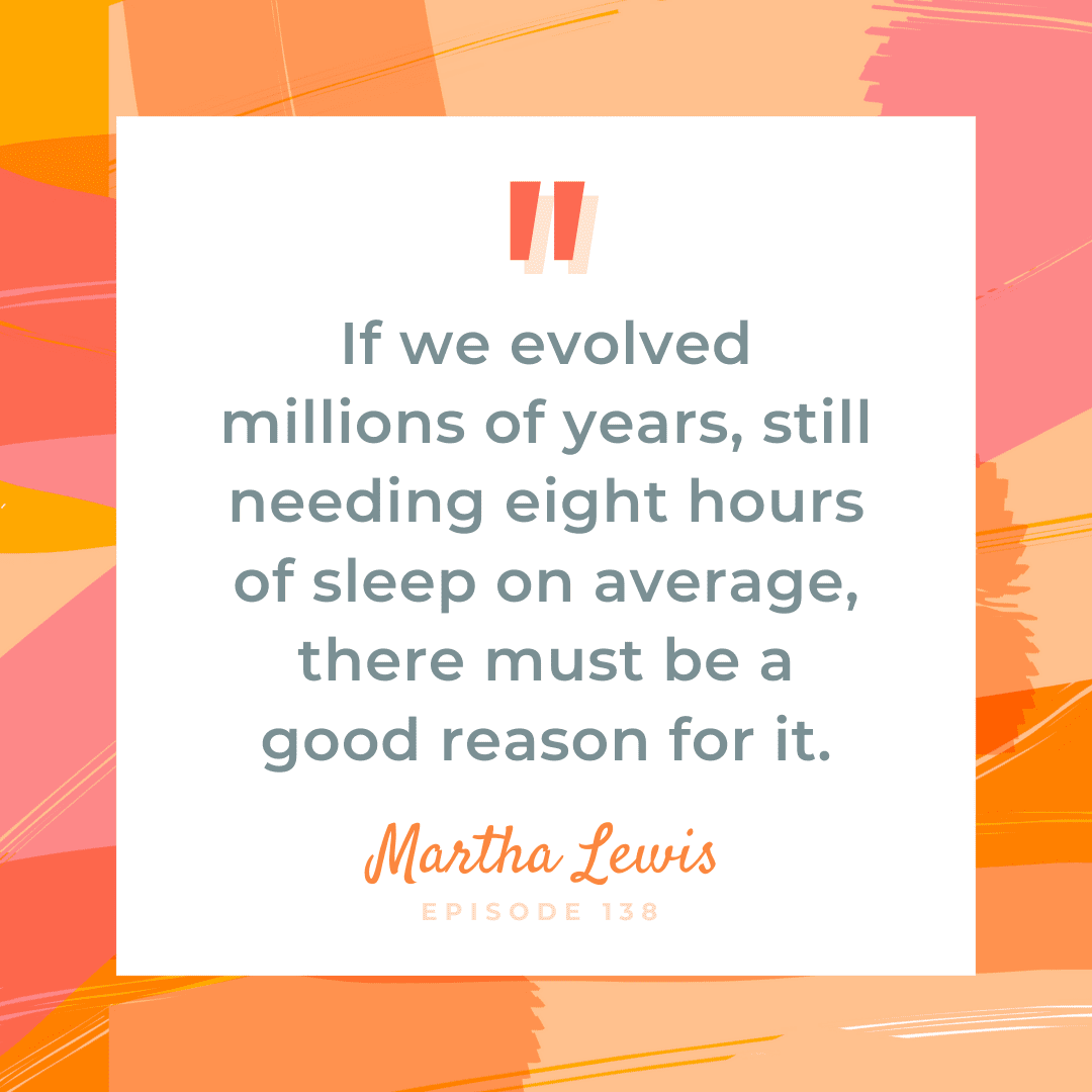 The concept of sleep is simple enough, but the act of it can be incredibly complicated. This week, we talk with sleep consultant Martha Lewis, who makes the case for why it's brave to make sleep a priority. That's right—It's brave to sleep!