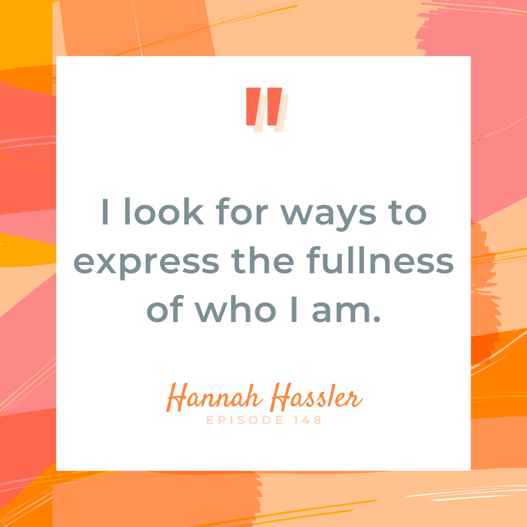 Showing up for yourself and getting your life back. The Brave Files Podcast welcomes Hanna Hassler
