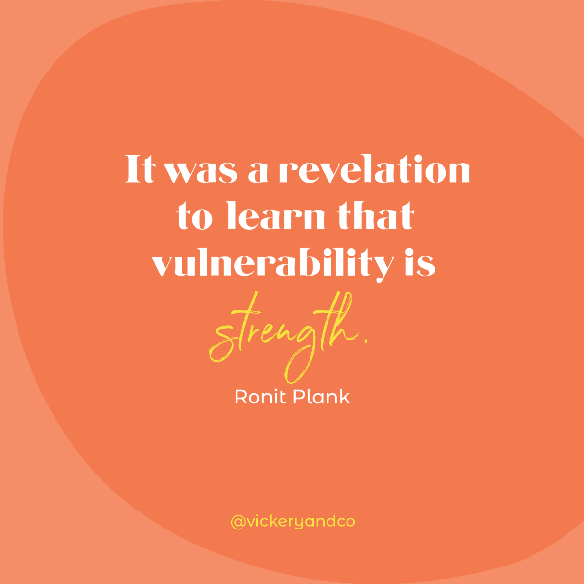 It was a revelation to learn that vulnerability is a strength. Ronit Plank, Episode 170, A Journey of Resilience and Reconciliation