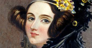 Ada Lovelace Chalon portrait