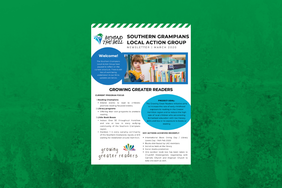 Southern Grampians LAG newsletter March 2020