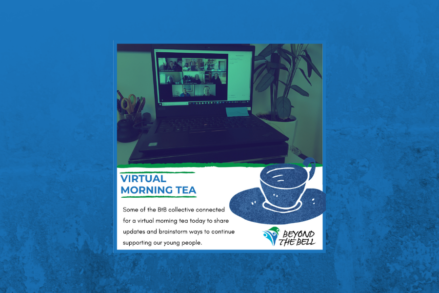 Virtual Morning Tea during Covid-19