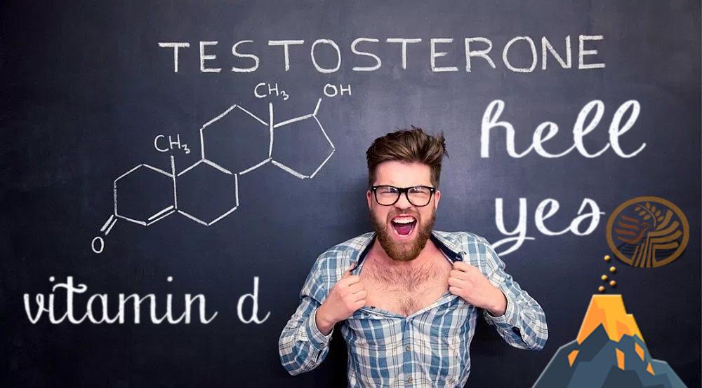 Testosterone Vitamin D