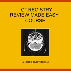 CT Registry Review Made Easy Package