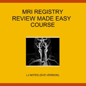 MRI Registry Review Made Easy Package