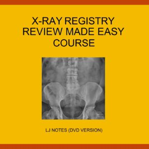 Diagnostic X-Ray Registry Review Made Easy Package