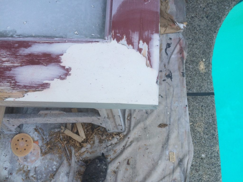French Door Restoration of Dry Rot Woodland CA Easton Painting