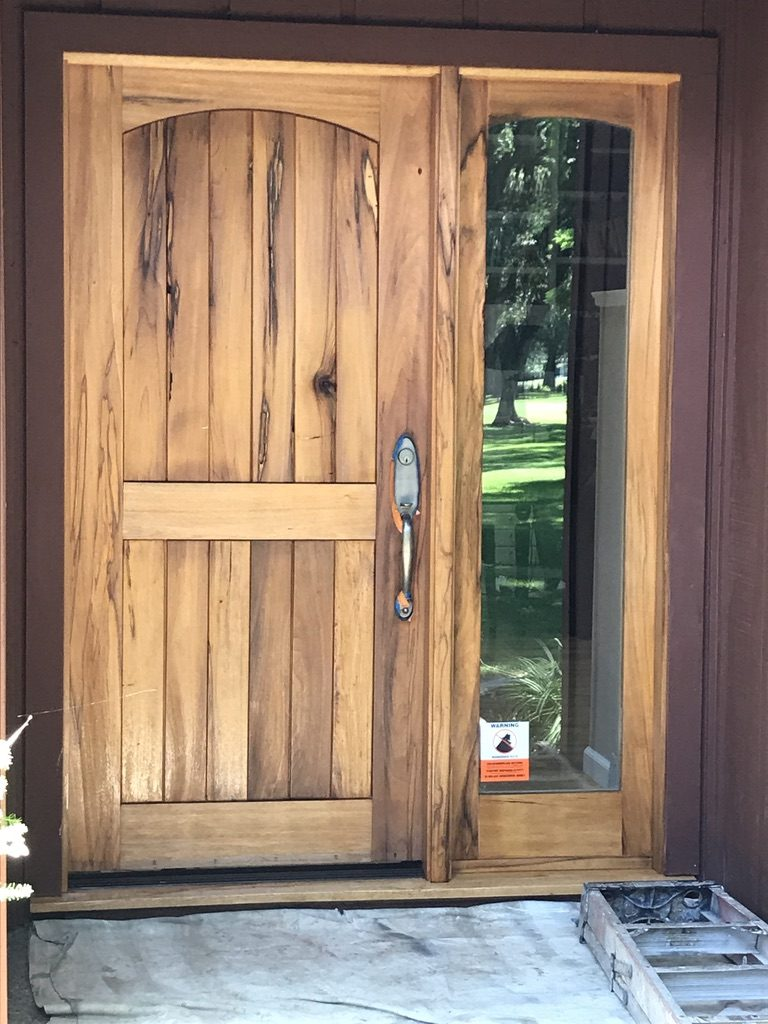 Wooden Door Restoration Woodland CA Easton Painting