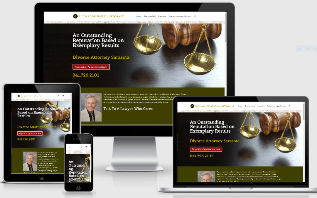 Simple Law Practice Website — Family Law