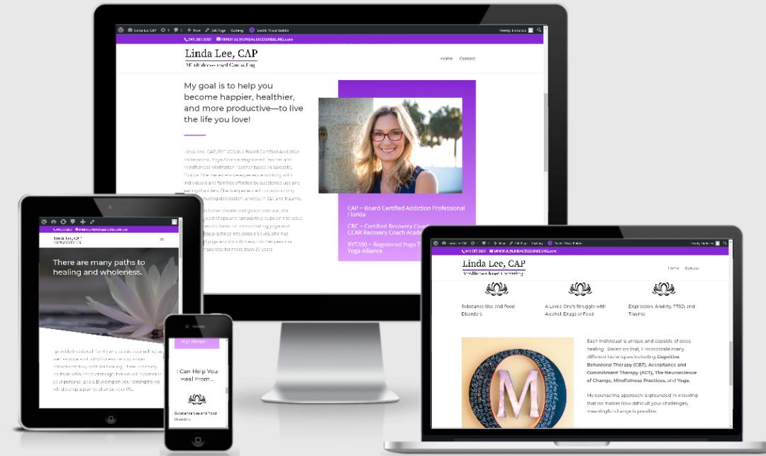 Linda Lee website