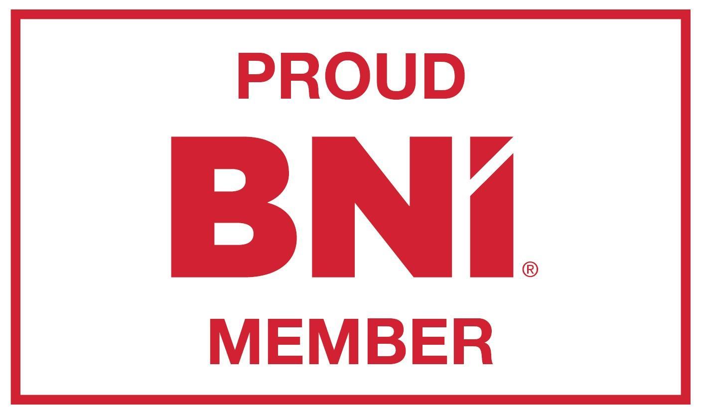 Proud BNI member