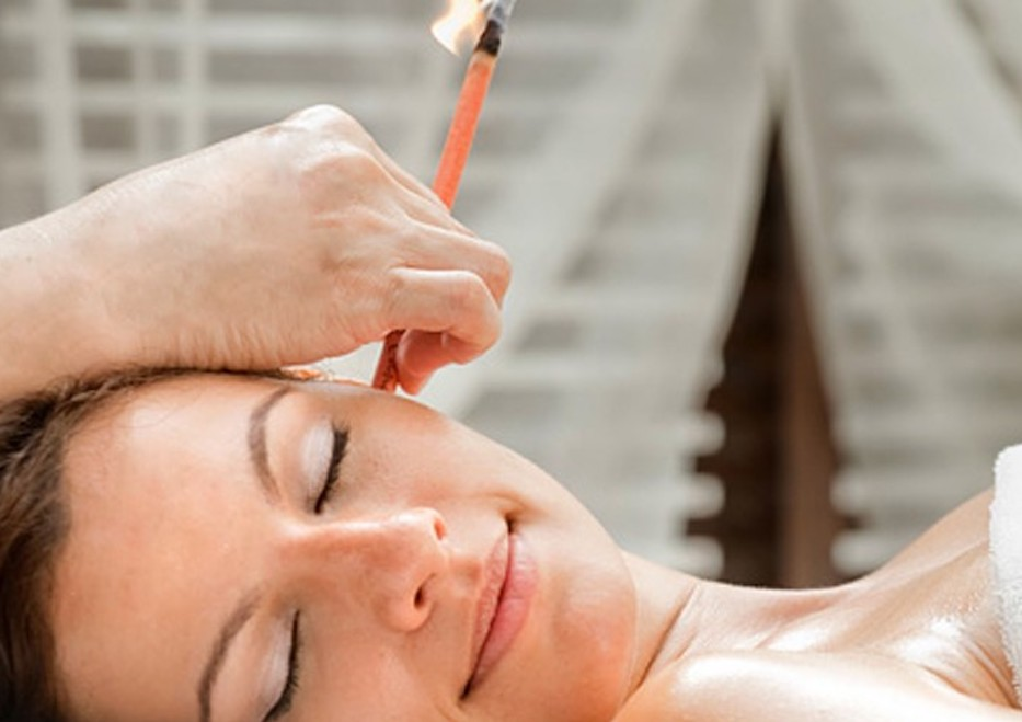 ear candling at Hair Salon Body & Soul