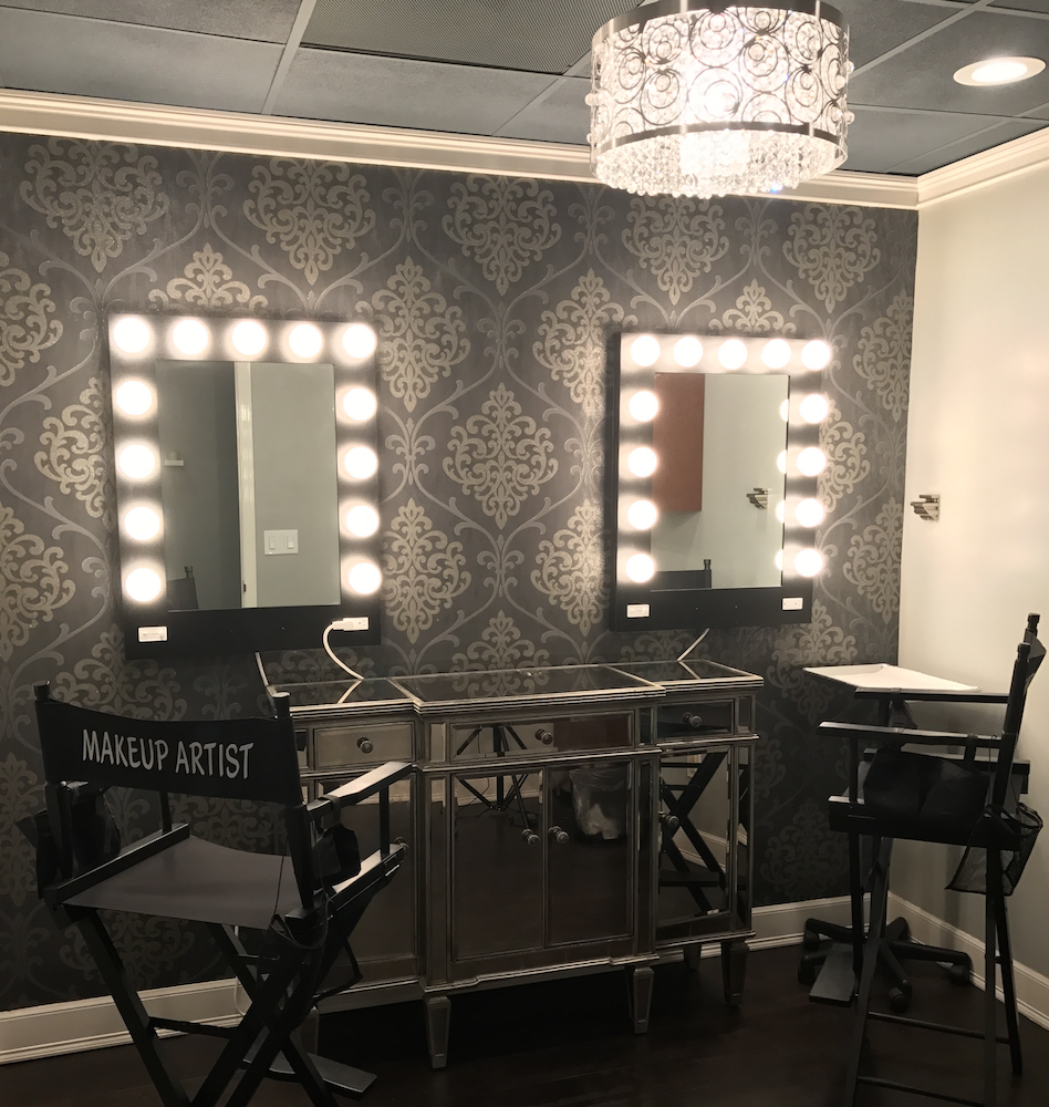 Makeup Room at Hair Salon Body & Soul