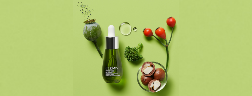 ELEMIS Superfood Facial Oil | Hair Salon Body and Soul | New Providence