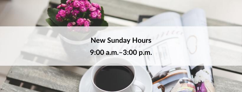 New Sunday hours | Hair Salon Body and Soul, New Providence, NJ