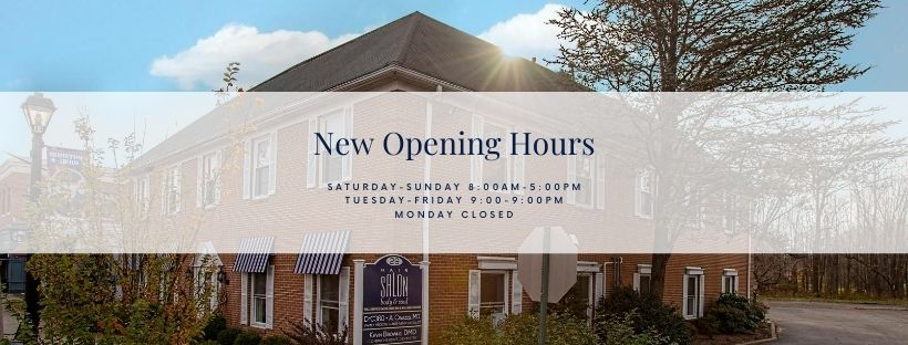 Fall Hours   Hair Salon Body and Soul