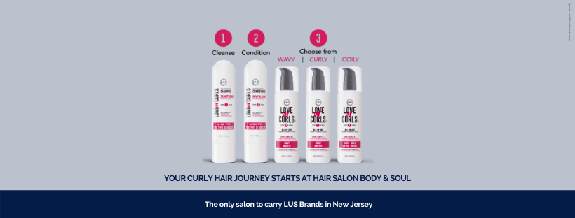 LUS Brands Luv Ur Curls Curly Hair Line | Hair Salon Body and Soul