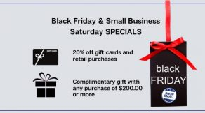 Black Friday and Small Business Saturday Specials | Hair Salon Body and Soul | New Providence, NJ