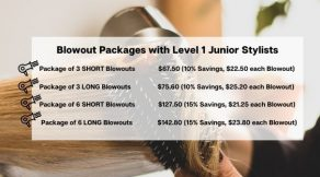 Blowout Packages | Hair Salon Body & Soul | New Providence, NJ