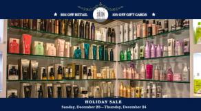 Holiday Sale | Hair Salon Body and Soul, New Providence, NJ