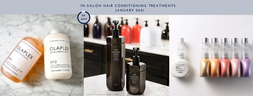 In-salon hair conditioning treatments | Hair Salon Body & Soul | New Providence