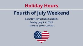 Fourth of July Holiday Weekend Hours | Hair Salon Body & Soul | New Providence, NJ