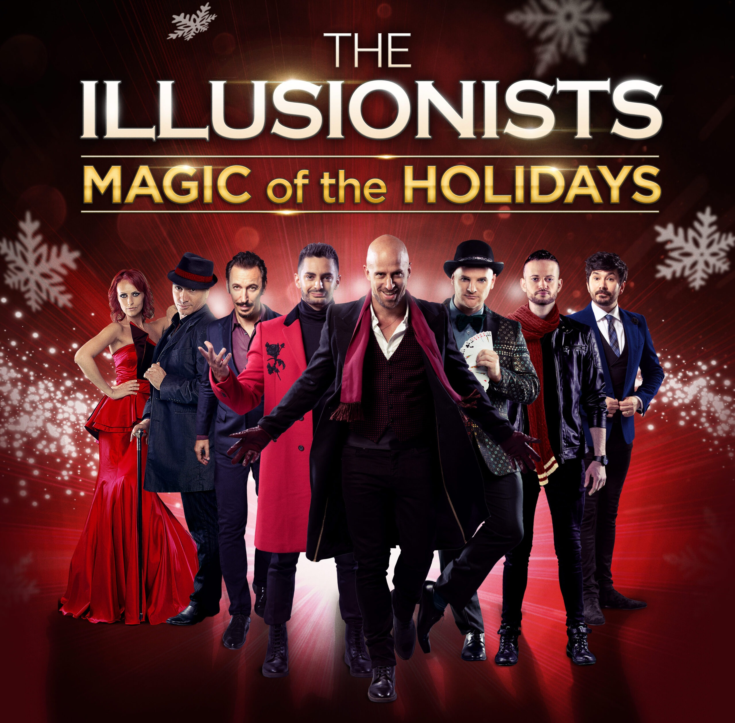 THE ILLUSIONISTS - MAGIC OF THE HOLIDAYS Event page & Ticketing Link