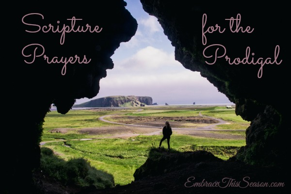 Scripture Prayers for the Prodigal