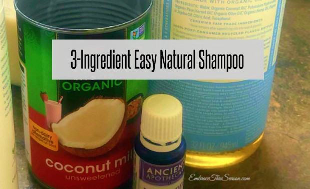 Natural Shampoo Recipe