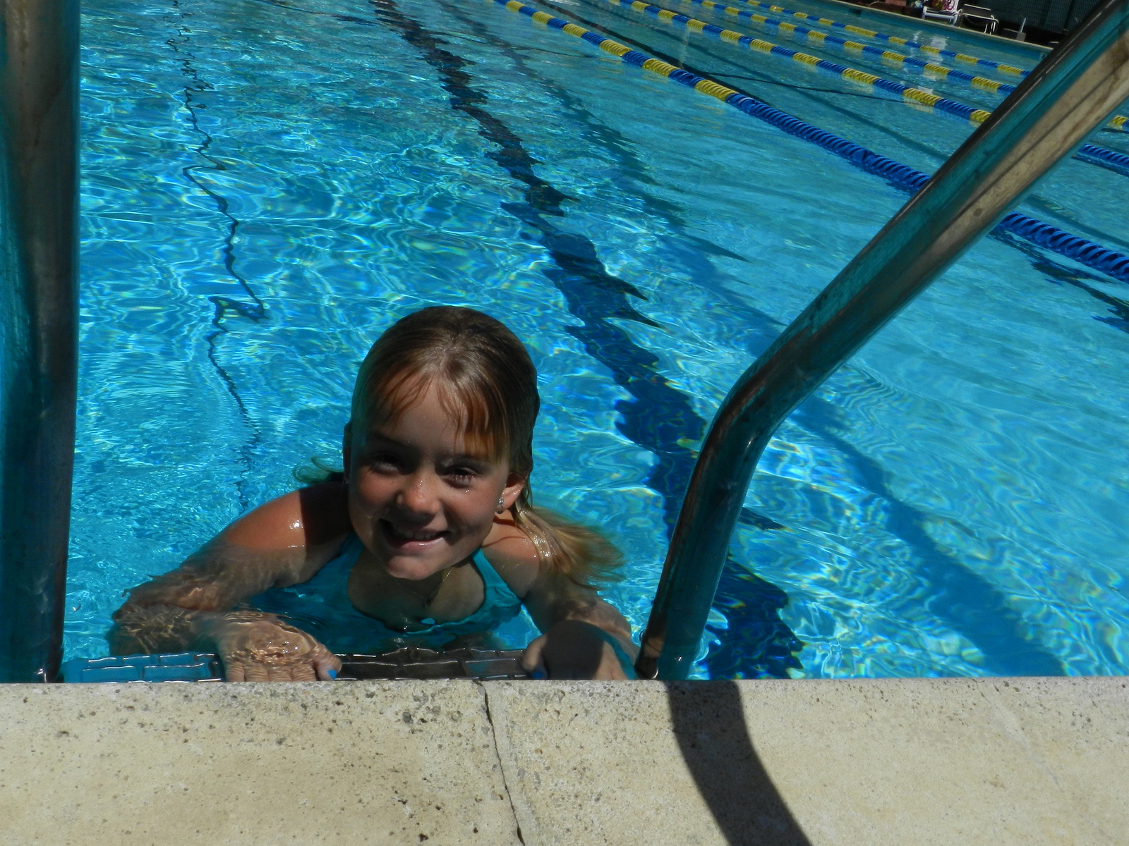 Swimming at the Canon Club in Fairfax