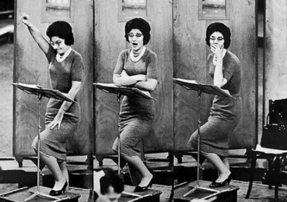 Maria Callas Rehearsal
