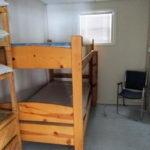 Cottage 1 - Bedroom (bunk beds)