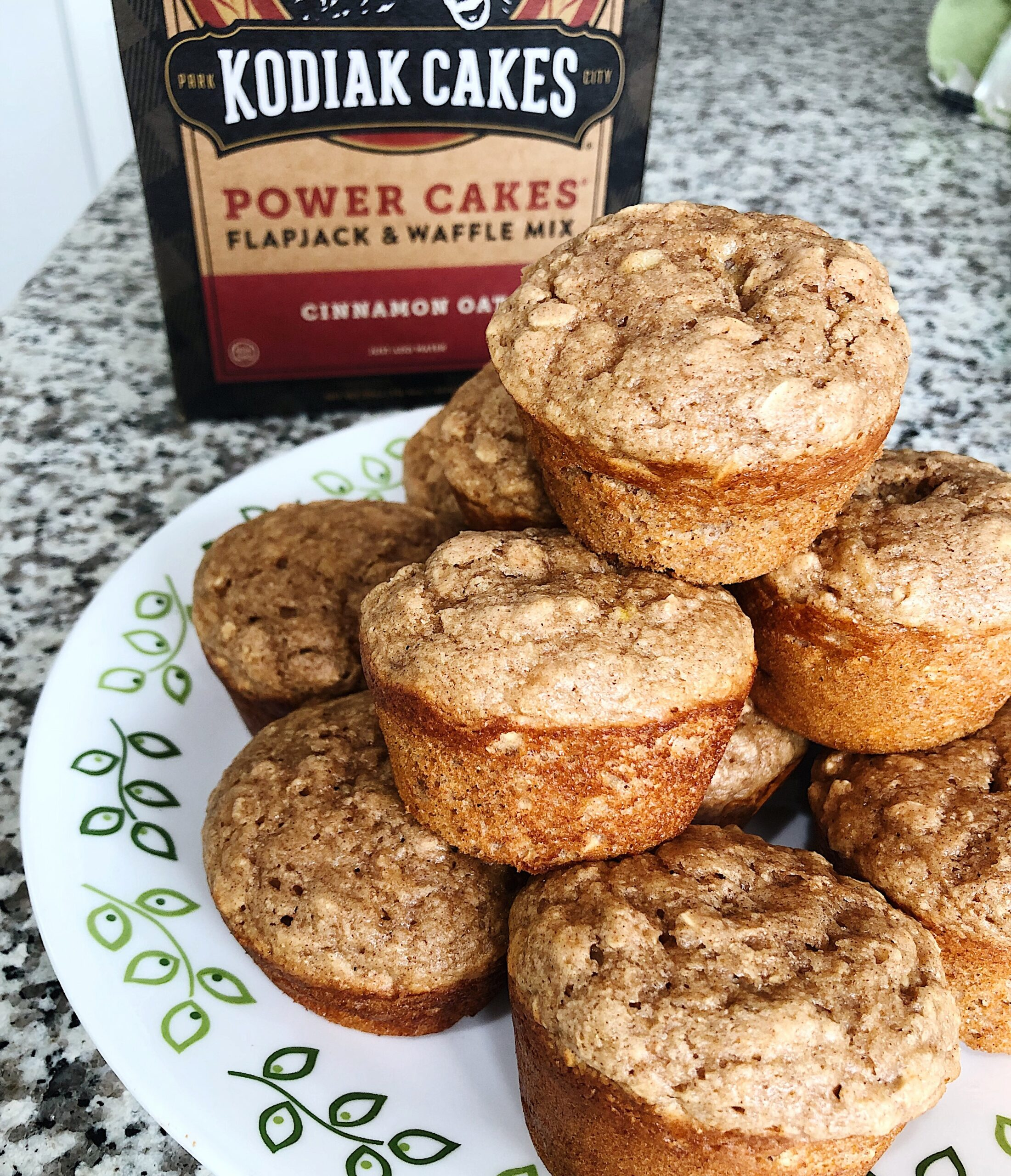 Cinnamon Oat Protein Muffins