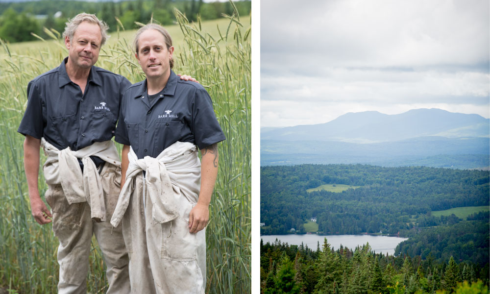 Founders Todd Hardie and Ryan Christiansen; View from Barr Hill Natural Area