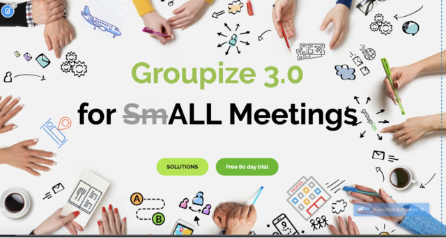 "Groupize launches ""Groupize 3.0"" to manage ALL meetings"