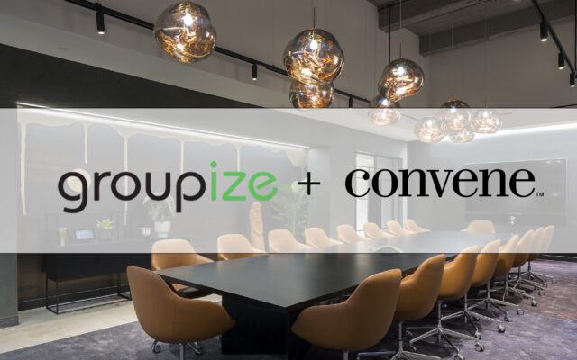 Groupize Partners with Convene to Add World-Class Venue Listings