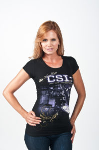 Photographers of Las Vegas - Product Photography - model with black tshirt studio product photography