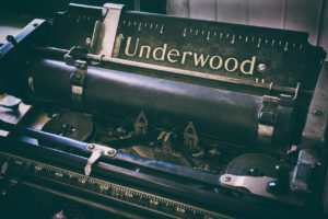 Photographers of Las Vegas - Product Photography - old typewritter