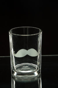 Photographers of Las Vegas - Product Photography - mustache shot glass