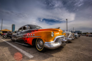 Photographers of Las Vegas - Car Photography - flames on car