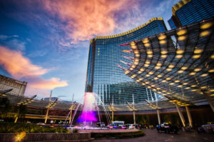 Photographers of Las Vegas - Architectural Photography - Aria sunset