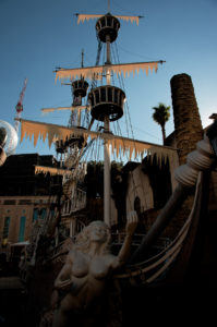 Photographers of Las Vegas - Architectural Photography - Treasure Island pirate ship