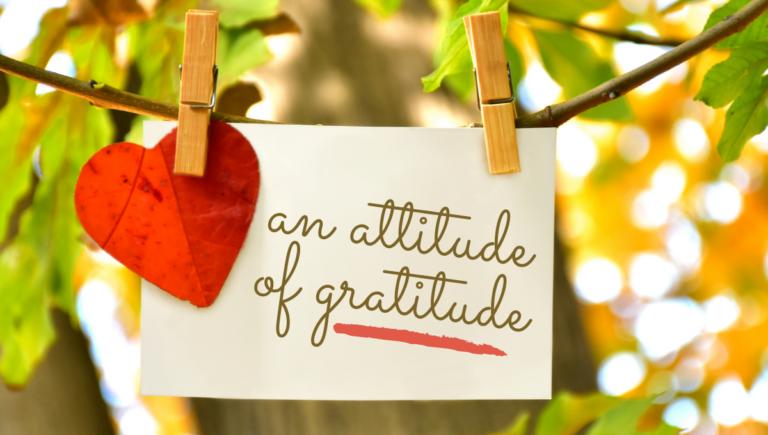 Gift Giving: An Attitude of Gratitude