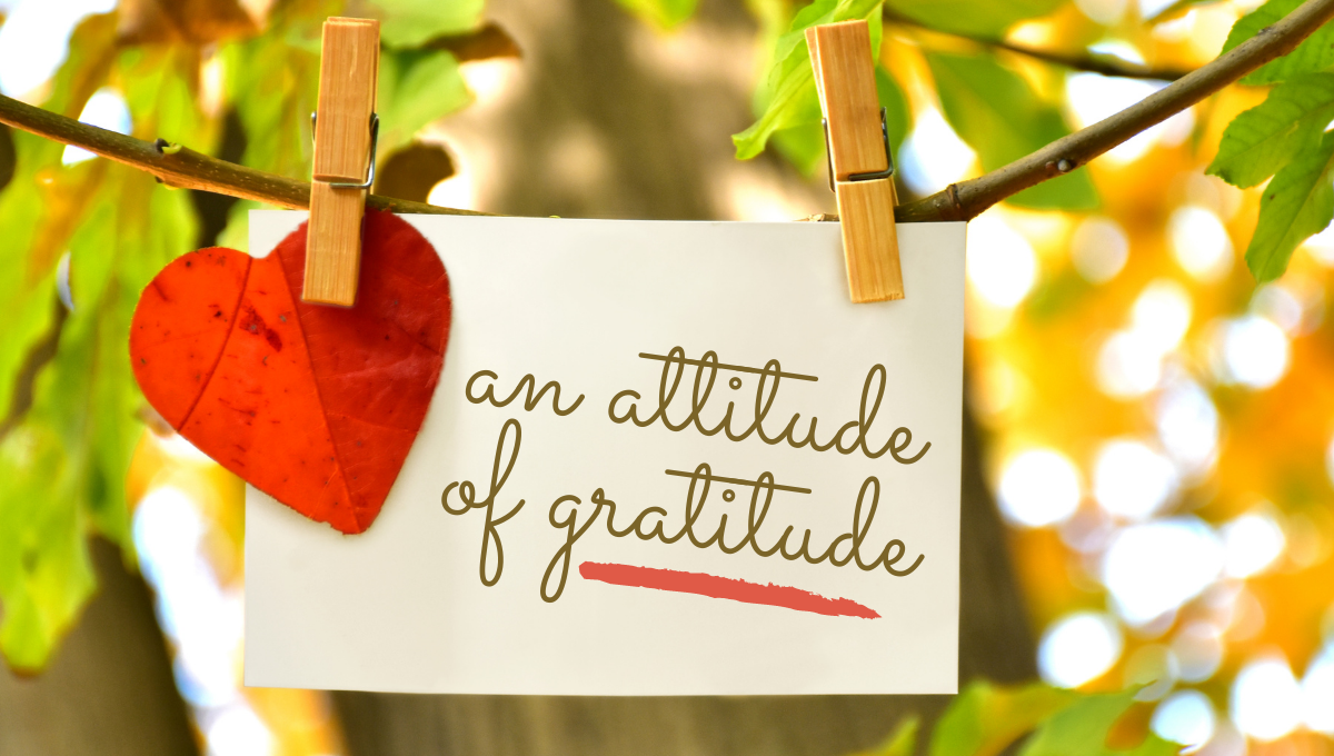 Gift Giving: An Attitude of Gratitude