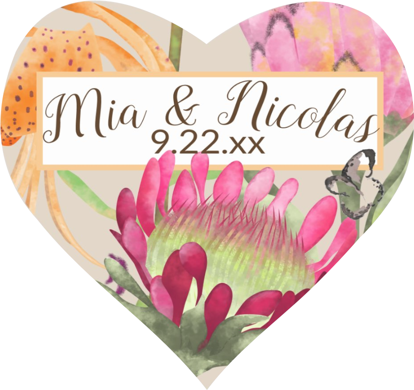 protea-flowers-tiger-lilies-wedding
